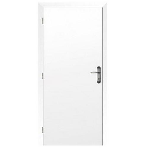 Dveře požárně odolné, šíře 80 cm, levé, fólie bílá, rozteč 90 mm