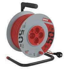 Kabel prodlužovací na bubnu Emos 50 m 1,5 mm2 IP 20