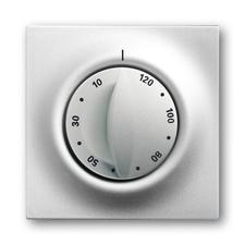 Kryt ovládače časového Impuls saténová stříbrná