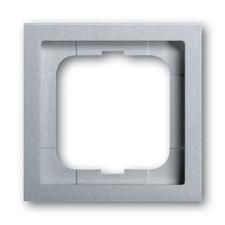 Rámeček jednonásobný Future linear, hliníková stříbrná
