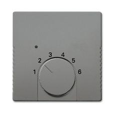 Kryt termostatu Solo metalická šedá