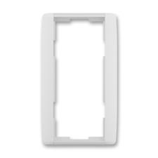 Rámeček dvojnásobný svislý Element bílá / ledová bílá