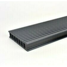 Prkno terasové dřevoplastové Twinson Terrace odstín břidlice 140x28×6000 mm