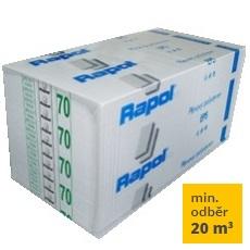 Fasádní polystyren 70F 20mm 500x1000 RAPOL