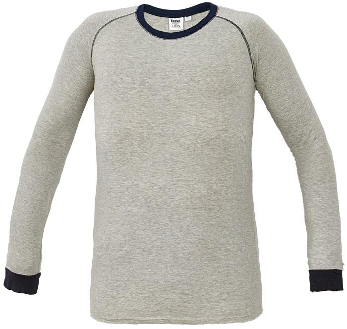 Tričko LION s dlouhým rukávem šedé XS/S