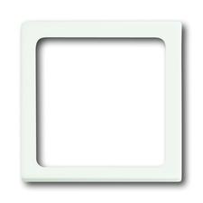 Kryt přístroje osvětlení Future linear mechová bílá