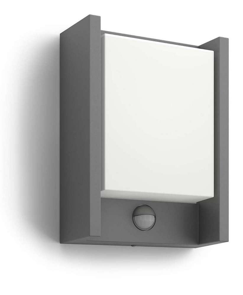 Svítidlo LED venkovní s čidlem 6W IP44, Philips Arbour IR antracite