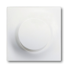 Kryt stmívače s krátkocestným ovladačem Impuls mechová bílá