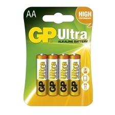 Baterie alkalická GP ULTRA LR6(AA) (4 ks/bal)