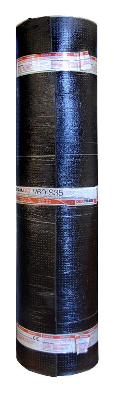 Oxidovaný asfaltový pás s vložkou ze skelné rohože DEKBIT V60 S35 (role/10 m2)
