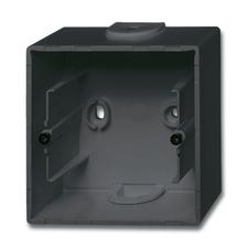 Krabice přístrojová nástěnná Future linear mechová černá