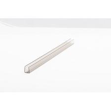 Polykarbonátový profil ukončovací tvaru U rozteč 10 mm délka 6 m
