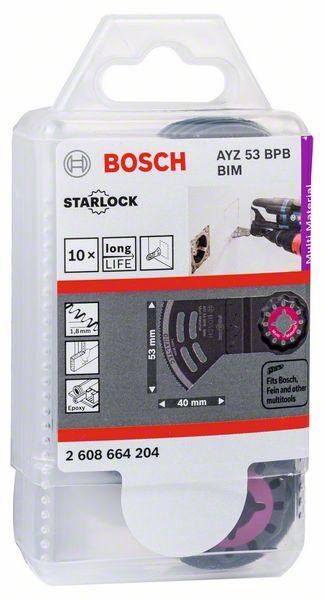 List pilový ponorný Bosch AYZ 53 BPB Multi Material 10 ks