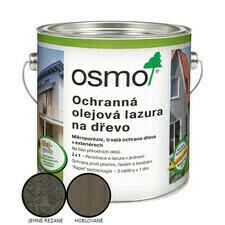 Lazura olejová ochranná Osmo Effekt 1143 stříb. onyx 2,5 l