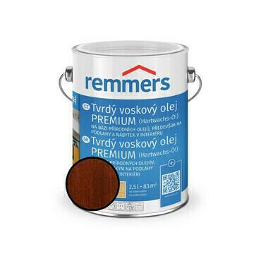 Olej tvrdý voskový Remmers Premium 1355 teak 2,5 l