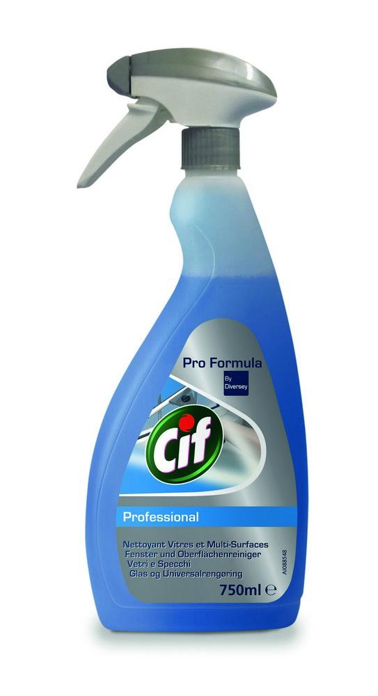Čistící prostředek na okna a povrchy CIF Professional 750 ml
