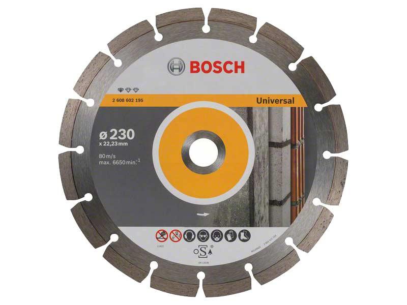 Diamantový řezný kotouč Bosch Professional for Universal 230×22,23 mm
