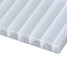 Polykarbonátová dutinková deska MULTICLEAR 10 STRONG 6W opál s UV ochranou 1500×7000 mm