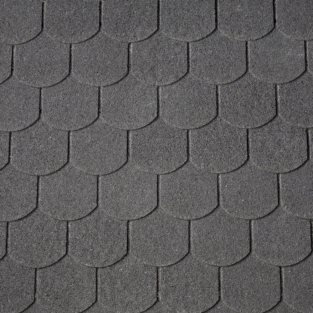 Asfaltový šindel IKO Victorian Plus 01 černá