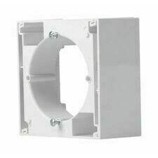 Krabice nástěnná Schneider Asfora, bílá, jednonásobná
