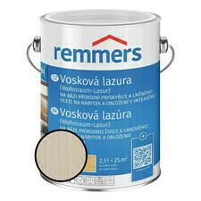 Emulze vosková Remmers Wohnraum Lasur 2401 bílá 2,5 l