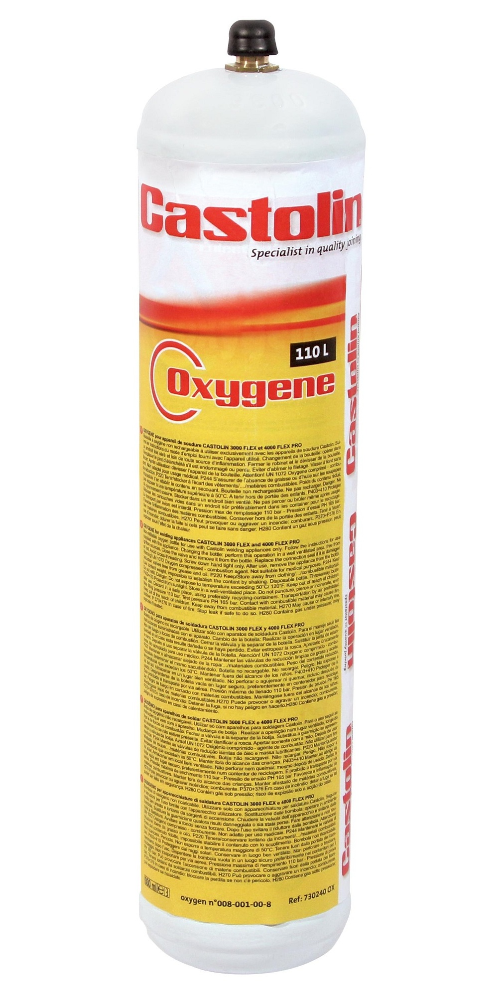 Náplň OXYGEN Castolin (pro 2000, 3000 a 4000PRO)
