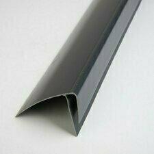 F profil ukončovací plastový grafit 3000 mm