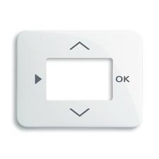 Kryt ovladače časovacího nebo termostatu Alpha alabastr