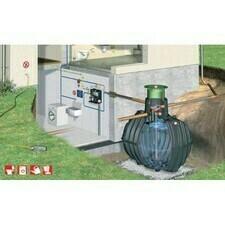 Sestava nádrže na dešťovou vodu Graf Carat Professionell, 3 750 l