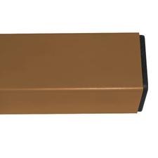 Nosník poplastovaný DŘEVOplus pískový 50×30 mm 1 m řez