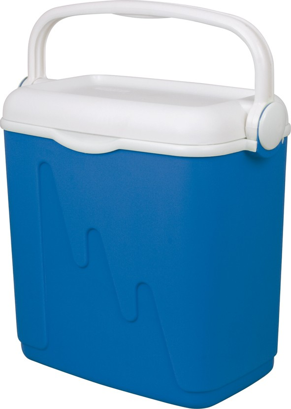 Chladící box 20 l bílá/modrá , cena za ks
