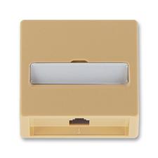 Kryt telefonní zásuvky jednonásobné Classic béžová