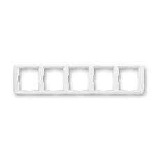 Rámeček pětinásobný vodorovný Element bílá