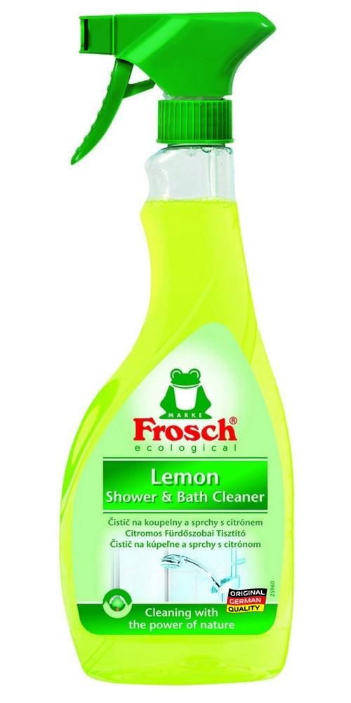Čistič na koupelny a sprchy FROSCH EKO Citrón 500 ml, cena za ks