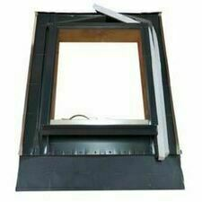 Střešní vikýř Al LVD univerzální šedý 50×55 cm