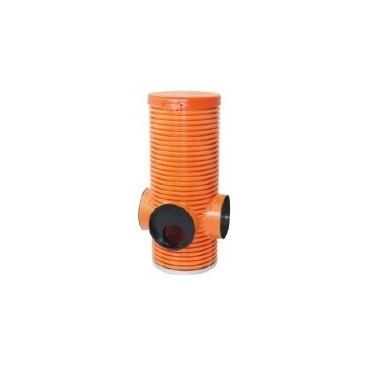 Proplachovací, kontrolní a sběrná PVC-U šachta Opti-control 315 bez lapače písku