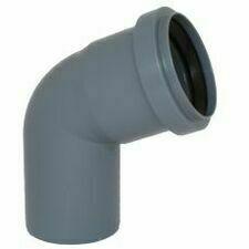 Koleno s hrdlem HTB pro odpadní potrubí, DN 75, úhel 67°
