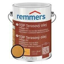 Olej terasový Remmers TOP modřín, 2,5 l