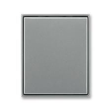 Kryt stmívače s krátkocestným ovladačem Time ocelová