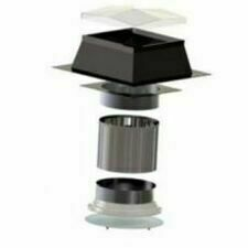 Světlovod pro plochou střechu SUNIZER SQUARE průměr 730 mm