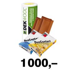 Poukaz na odběr zboží a služeb ve Stavebninách DEK v hodnotě 1 000 Kč