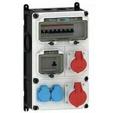 Kombinace zásuvková NG Energy Variabox-L 2× 230 V 2× 400 V