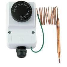 Provozní termostat Regulus 10772 0 - 90 °C s kapilárou 1,5m