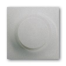 Kryt stmívače s krátkocestným ovladačem Impuls saténová stříbrná
