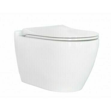 WC závěsné Uno Rimless se SLIM sedátkem soft-close