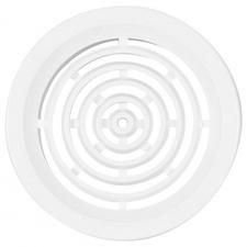 Mřížka větrací kruhová HACO VM 60 mm bílá