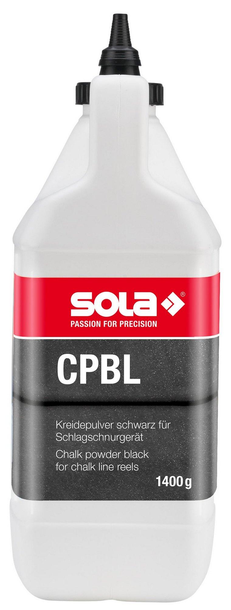 Křída značkovací SOLA CPBL černá 1,4 kg