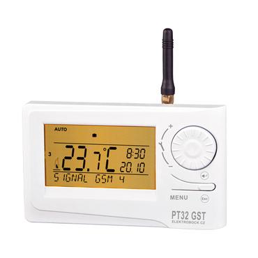 Termostat prostorový s GSM modulem ELEKTROBOCK PT32 GST