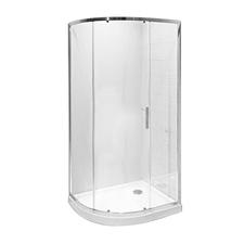 Kout sprchový čtvrtkruhový Jika TIGO 780 mm čiré
