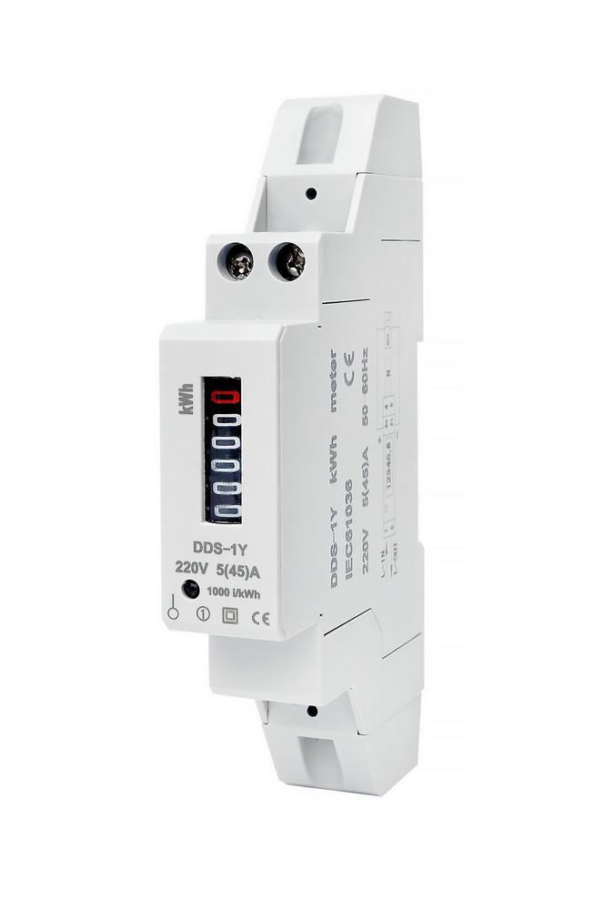 Elektroměr DDS-1Y-18M 45A, cena za ks